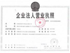 口口香食品-企业法人营业执照