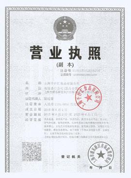 上海千汁汇食品有限公司营业执照副本