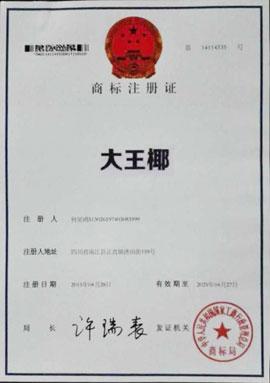 大王椰注册商标证