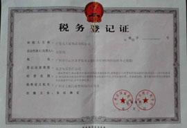 广东大王椰食品有限公司税务登记证