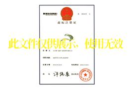 闽南渔港图形商标注册证