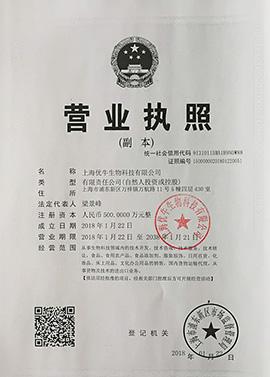 上海优牛营业执照