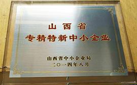 陕西省专精特新中小企业