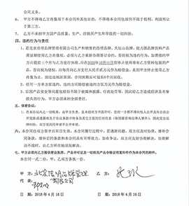 北京浩明品牌肖像权使用合同书