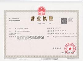青岛莲山特产有限公司营业执照