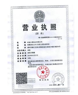 河南小豫乐虎体育乐虎营业证书