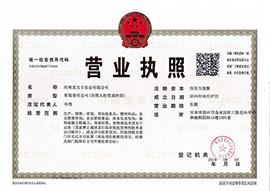 河南龙力卡实业乐虎营业执照