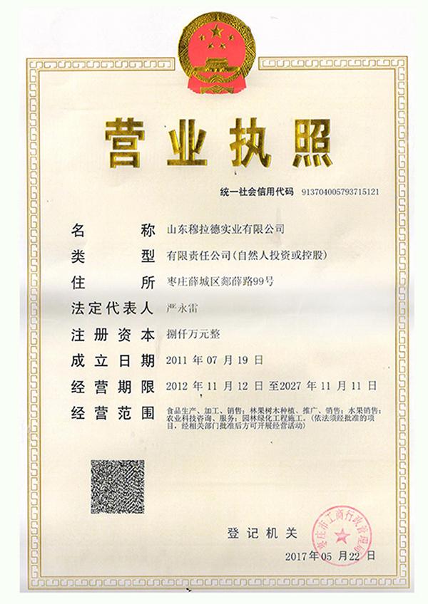 深圳福临门乐虎体育乐虎营业执照附件