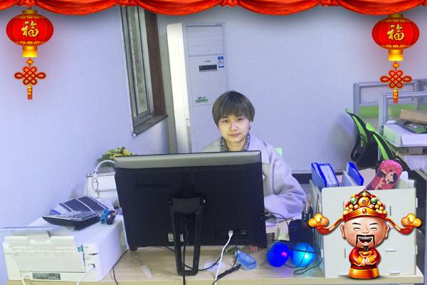 【华商经纬食品】总经理唐咏恭祝广大经销商朋友在新的一年里万事如意,身体健康,生意兴隆!