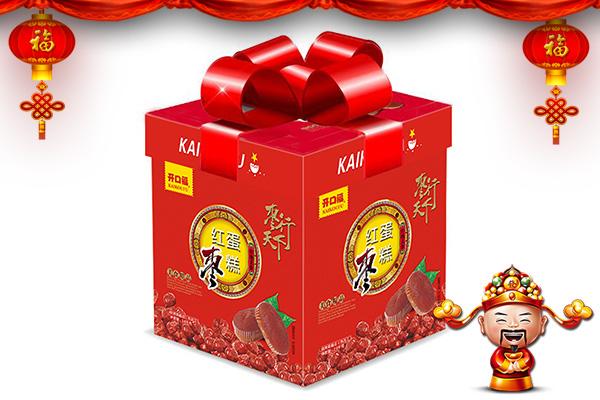 【开口福食品】全体员工祝大家春节快乐,财源广进,平安祥和!