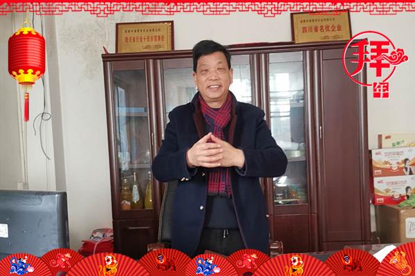 成都中港睿奇乳业有限公司 中港睿奇河南分公司董事长苟跃进携全体员工祝大家猪年吉祥,快乐飞扬!
