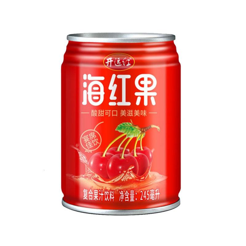 开运红海红果汁245ml*20罐整箱