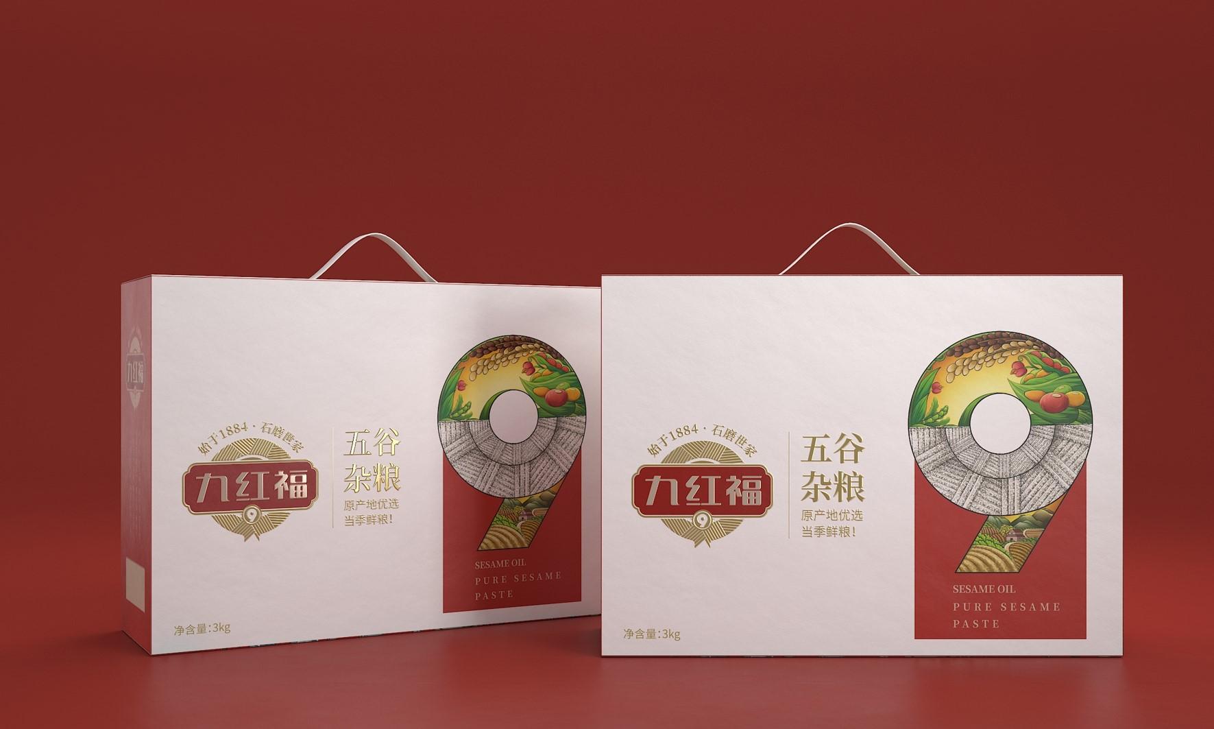九红福五谷杂粮 健康之道,源自杂粮