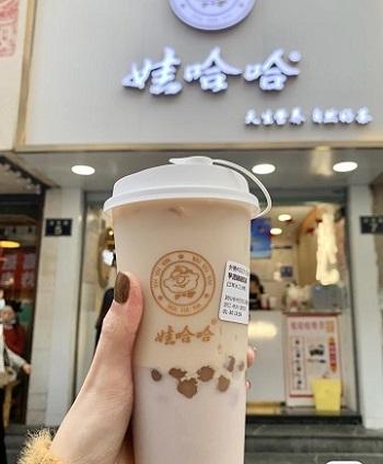 娃哈哈不忘初心,��娃哈哈奶茶,延�m童年陪你�^�m成�L